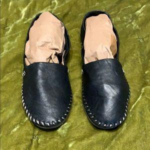 Adam Tucker -Solo black leather